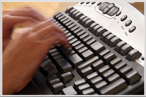 Transcription Typing